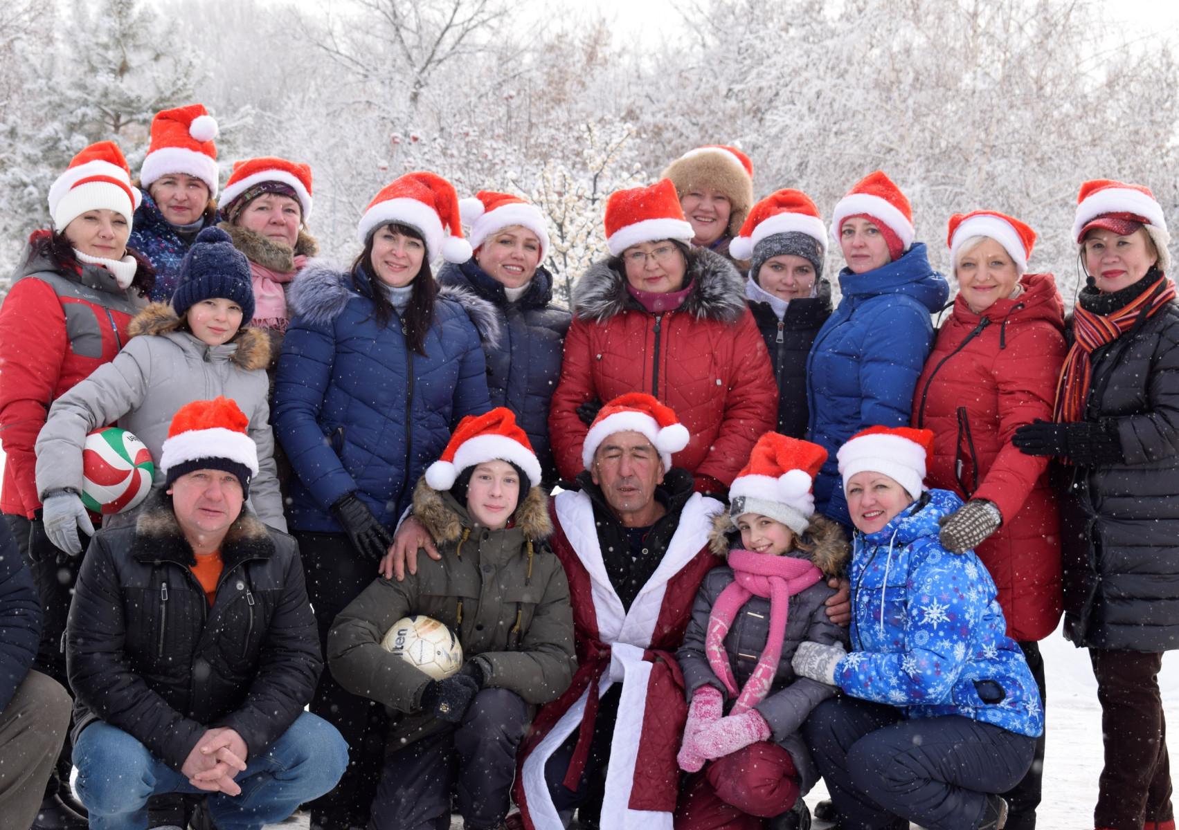 Новый год на базе отдыха Петровское из Оренбурга!